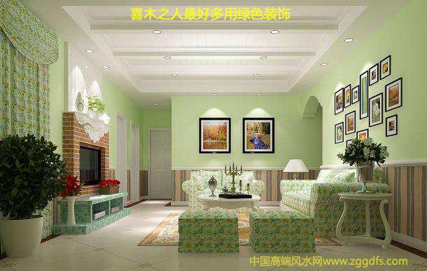 家居風水,喜木之人宜用綠色家具